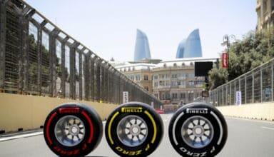2021 Azerbaijan GP Pirelli tyres C5 soft C4 medium C3 hard Photo Pirelli