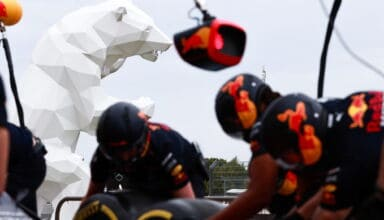 2021 French GP Red Bull pitstop practice Photo Red Bull