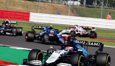 2021 British GP Russell Williams Sprint Qualifying Photo Williams