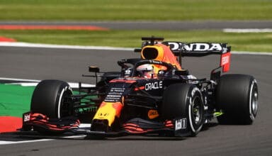 2021 British GP Verstappen Red Bull hard Pirelli tyres C1 compound Photo Red Bull