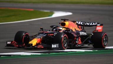 2021 British GP Verstappen Red Bull soft Pirelli tyres C3 compound Photo Red Bull