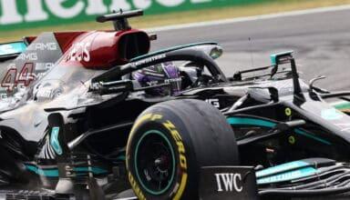 2021 Italian GP Hamilton Mercedes F1 W12 Photo Daimler