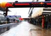 2021 Russian GP FP3 pitlane rain Photo Red Bull