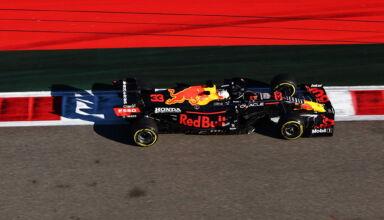 2021 Russian GP Verstappen Red Bull FP2 Photo Red Bull