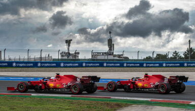 2021-Turkish-GP-Leclerc-and-Sainz-Ferrari-Photo-Ferrari