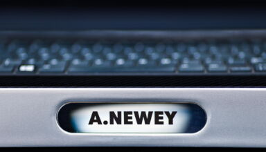 2021 Turkish GP The nameplate of Adrian Newey on the pitwall during final practice Photo Red Bull