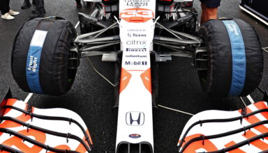 2021 Turkish GP Verstappen Red Bull RB16B tyre blankets on the grid Photo Red Bull