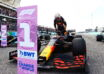 2021 US GP Verstappen takes pole on the grid after Qualifying Photo Red Bull