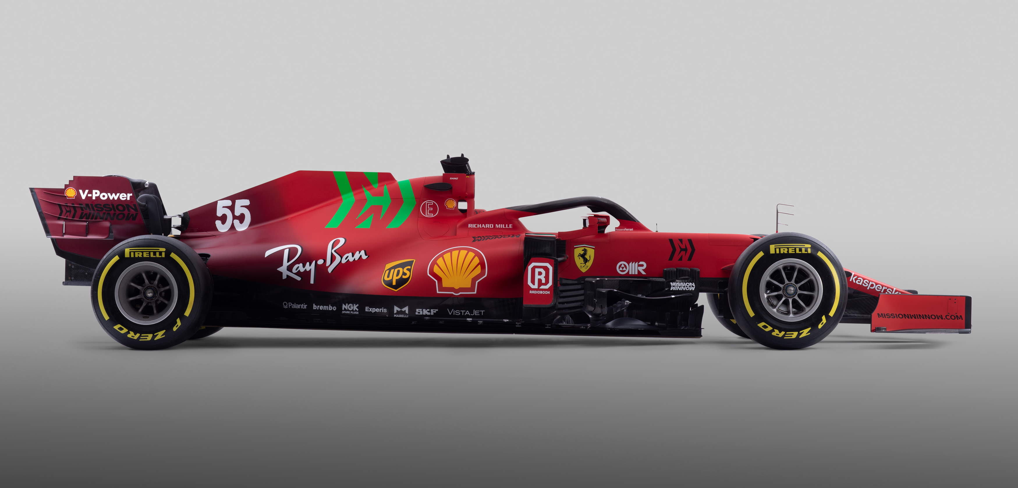 2021 Ferrari SF21 studio photo side view Photo Ferrari